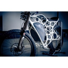 News - 2016052303 - This freaky electric motorbike was 3D printed with metal powder