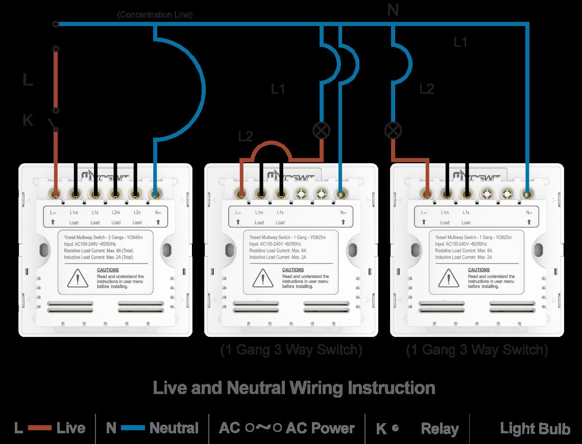 Smart 3-Way Switch - Socket 86 - 2 Gang - Smart Home ... on 3 phase light switch wiring, 3 gang light switches, 3 gang electrical wiring, 3 gang dimmer switch, 4 gang light switch wiring, 2 gang light switch wiring,